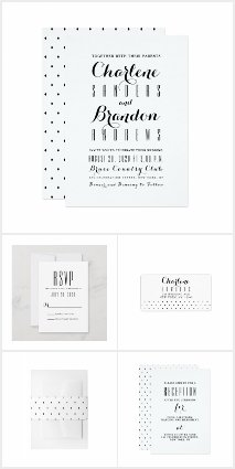 Minimal Modern Simple Elegant Wedding Collection