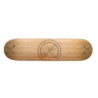 Minimal Mountain Skateboard