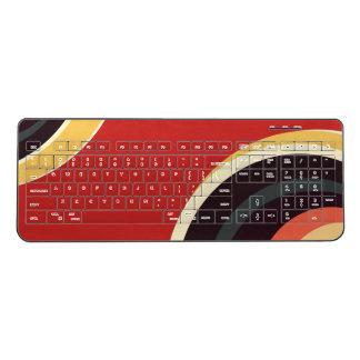 Minimal Nebula (Option 6) Wireless Keyboard
