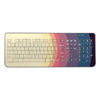 Minimal Nebula (Option 9) Wireless Keyboard