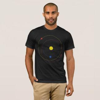 Minimal Roadster in Space Orbit T-Shirt