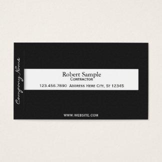 Minimal Tab Business Card