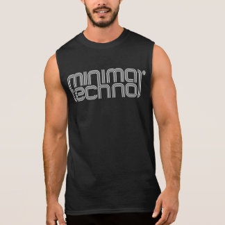 Minimal Techno - Mens Sleeveless Shirt