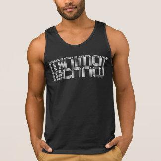 Minimal Techno - Mens Tank Top
