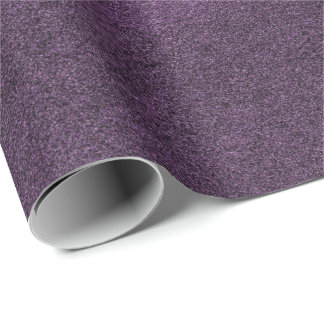 Minimal Ultra Violet Purple Cement Mauve Eggplant Wrapping Paper
