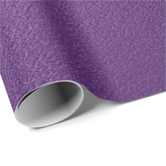 Minimal Ultra Violet Purple Orchid Amethyst Iris Wrapping Paper