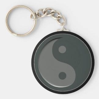 Minimal YingYang Keychain