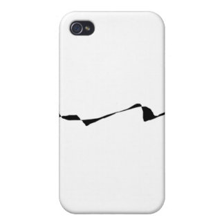 Minimalism - Black and White Cases For iPhone 4