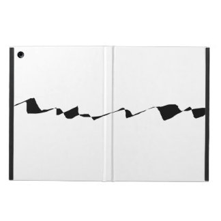 Minimalism - Black and White iPad Air Cover