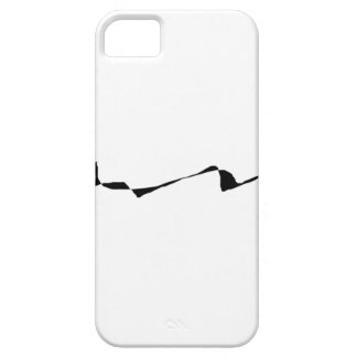 Minimalism - Black and White iPhone 5 Covers
