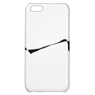 Minimalism - Black and White iPhone 5C Case