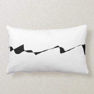 Minimalism - Black and White Lumbar Pillow