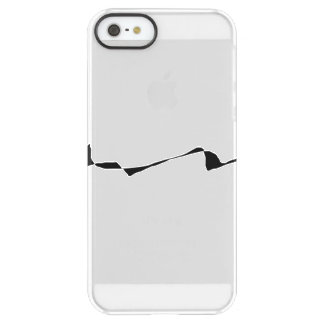 Minimalism - Black and White Permafrost® iPhone SE/5/5s Case