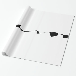 Minimalism - Black and White Wrapping Paper