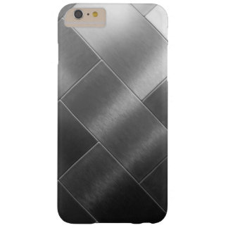 Minimalism Black Gray White Ombre Tile Vip Barely There iPhone 6 Plus Case
