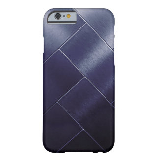 Minimalism Blue Navy Gray Ombre Tile Vip Barely There iPhone 6 Case
