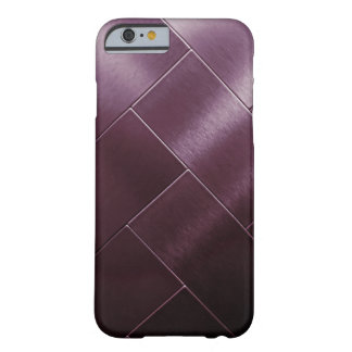 Minimalism Burgundy Gray Ombre Tile Vip Barely There iPhone 6 Case