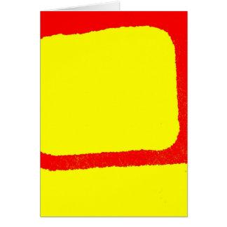 Minimalist Abstract Greeting Card