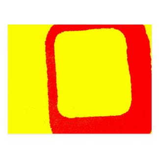 Minimalist Abstract Post Card