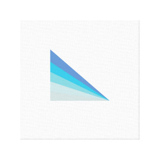 Minimalist Abstract Ship Canvas Print