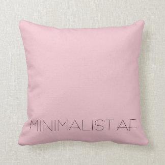 Minimalist AF Throw Pillow