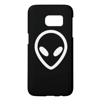 Minimalist Alien is watching you Samsung Galaxy S7 Case