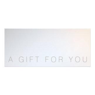 Minimalist Beauty Salon Spa Gift Certificate