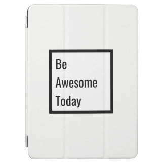 Minimalist Black & White Motivational iPad Cover