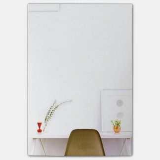Minimalist Chair From The Desk Of Post-it Notes