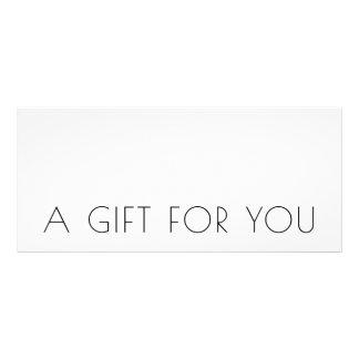 Minimalist Chic Modern Gift Certificate