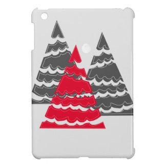 Minimalist Christmas Trees Case For The iPad Mini