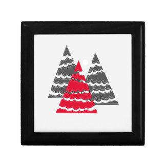 Minimalist Christmas Trees Gift Box