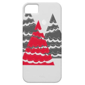 Minimalist Christmas Trees iPhone 5 Cases