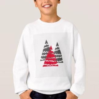 Minimalist Christmas Trees Sweatshirt