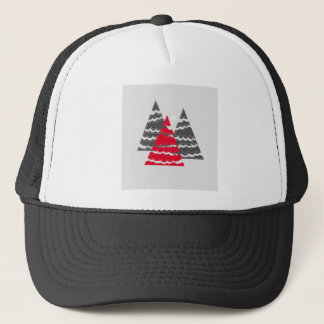 Minimalist Christmas Trees Trucker Hat