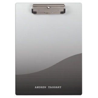 Minimalist Clipboard with simple gray design