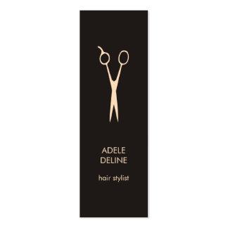 Minimalist Elegant Hair Stylist Pack Of Skinny Business Cards