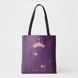Minimalist Fairy Tales | Alice in Wonderland Tote Bag