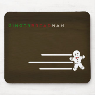 Minimalist Fairy Tales | Gingerbread Man Mouse Pad