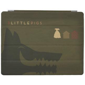 Minimalist Fairy Tales | The 3 Little Pigs iPad Cover