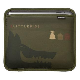 Minimalist Fairy Tales | The 3 Little Pigs Sleeve For iPads