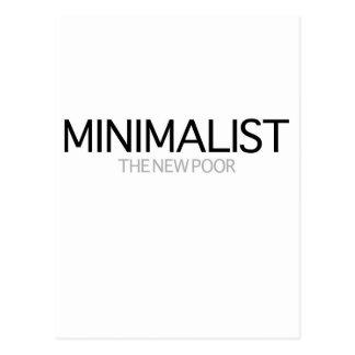 Minimalist (gray day) post card