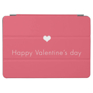minimalist Happy Valentine's Day iPad Air Cover