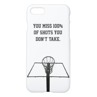 Minimalist iPhone Case / Basketball Inspirational