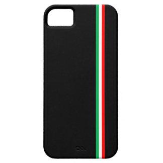 Minimalist Italian Flag Design iPhone 5 Case