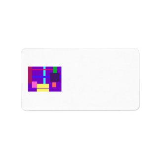 Minimalist Personalized Address Labels