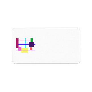 Minimalist Custom Address Labels