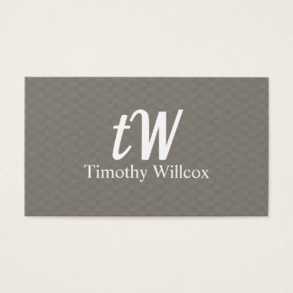 Minimalist Modern Elegant design Business Card