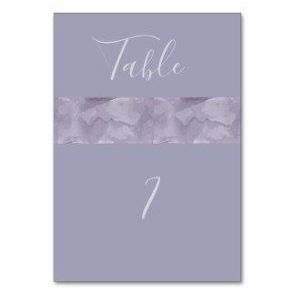 Minimalist modern lavender watercolor stripe card
