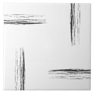 Minimalist monchrome lines wall tile